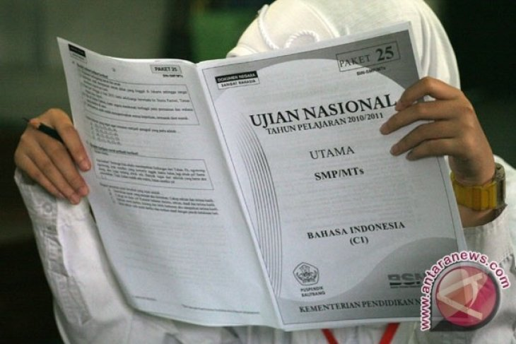 18.774 Siswa SMP/MTS Bogor Ikuti Ujian Nasional
