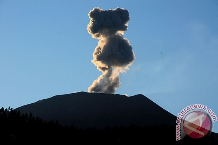 Mt Slamet spews magma 10 times