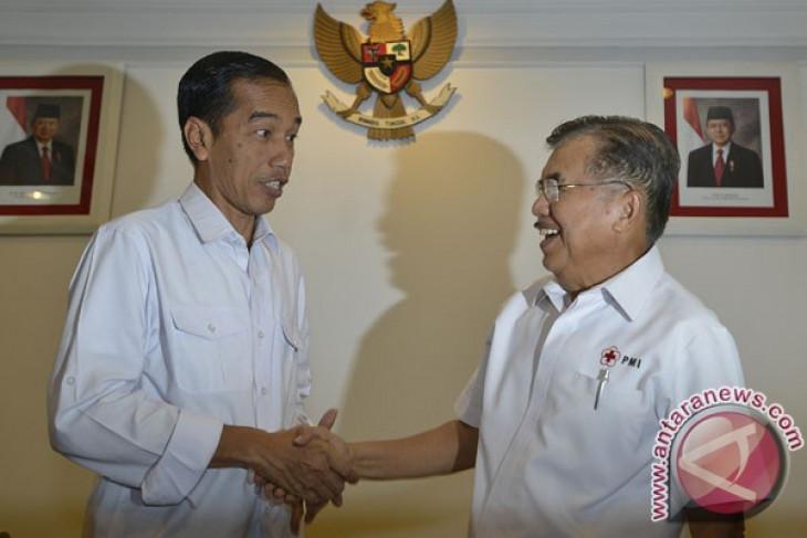 Kalla still awaiting news of Jokowi`s running mate