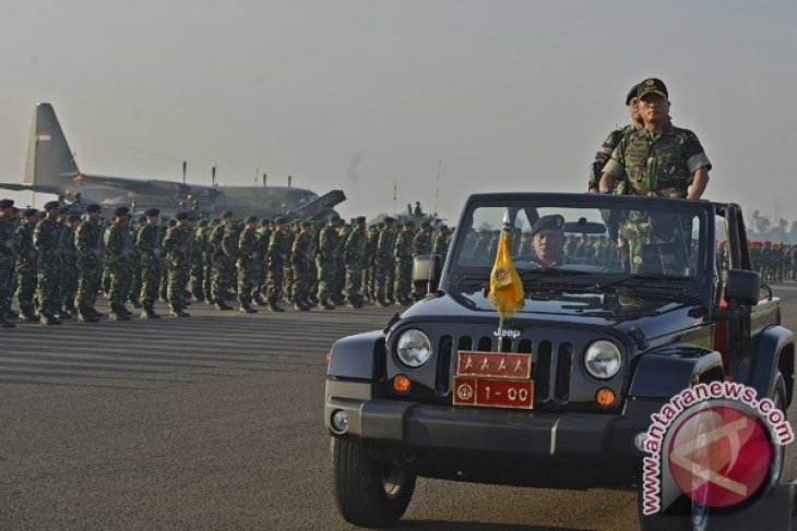 Indonesia holds military joint drill 2014
