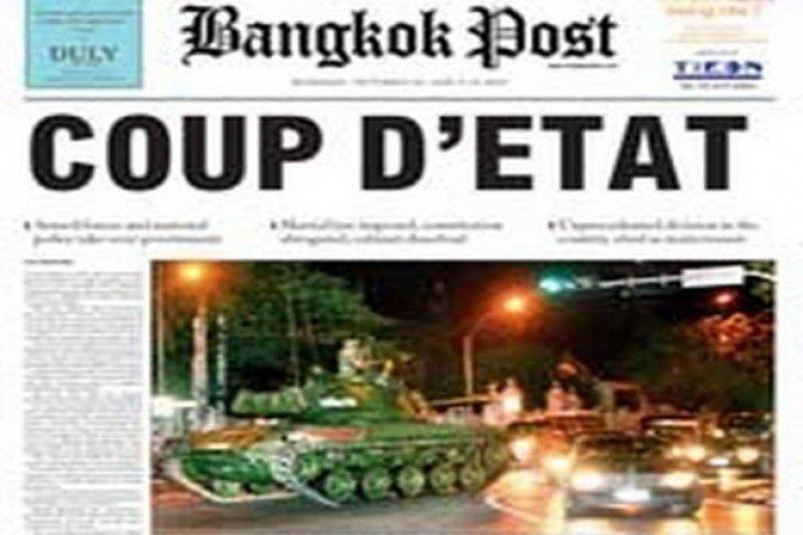 Kudeta Militer di Thailand Dikecam Sejumlah Negara