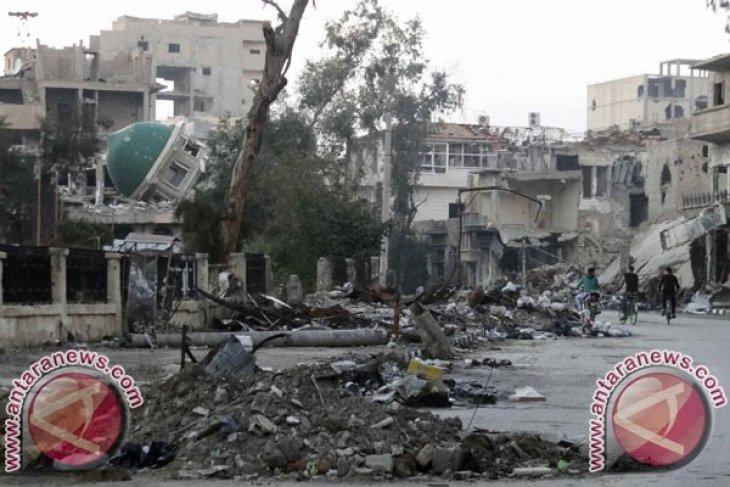 AS serang Suriah setelah serangan gas klorin
