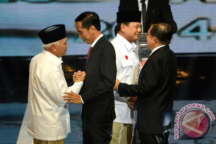 Presidential debates contributed to Prabowo`s electability hike: Sigma