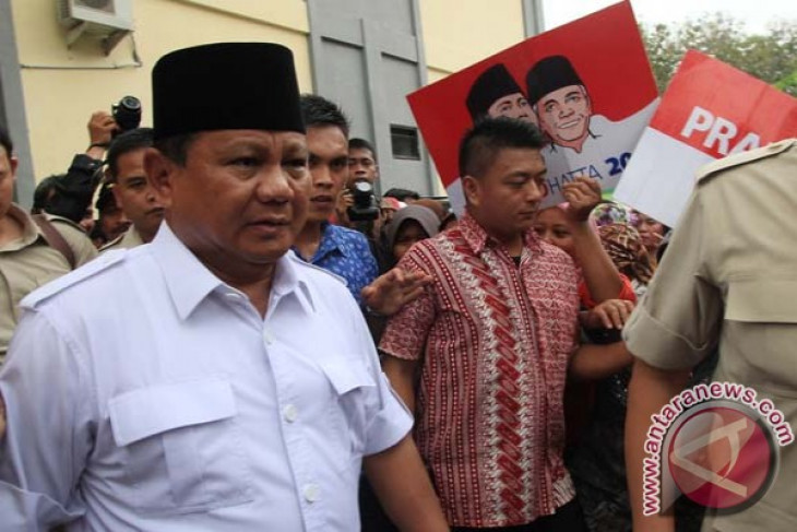 Prabowo`s wealth reported at more than rp1 trillion