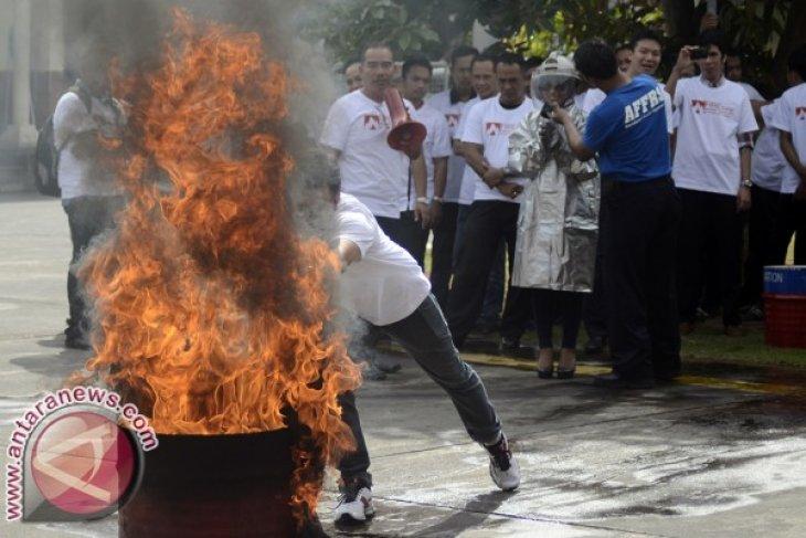 AP Ngurah Rai Gelar Simulasi Penanganan Kebakaran