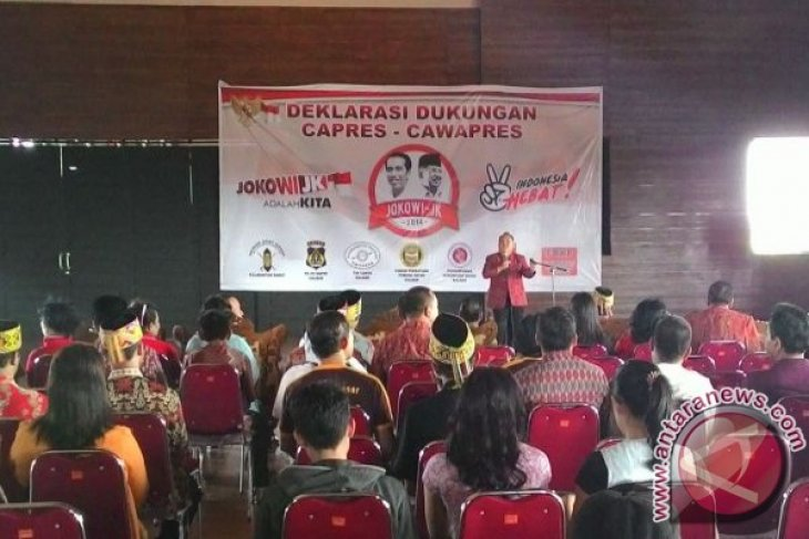 Dewan Adat Dayak Kalbar Dukung Jokowi-JK