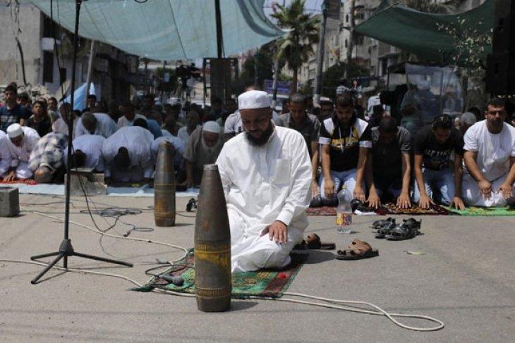 Polisi Gaza mengamankan hampir 300 rudal Israel yang gagal meledak
