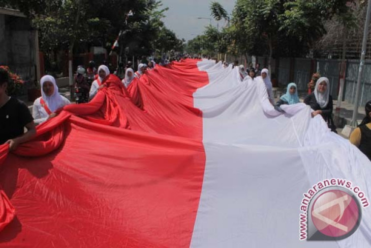 70th independence day: Garut teenagers to fly giant Indonesian flag