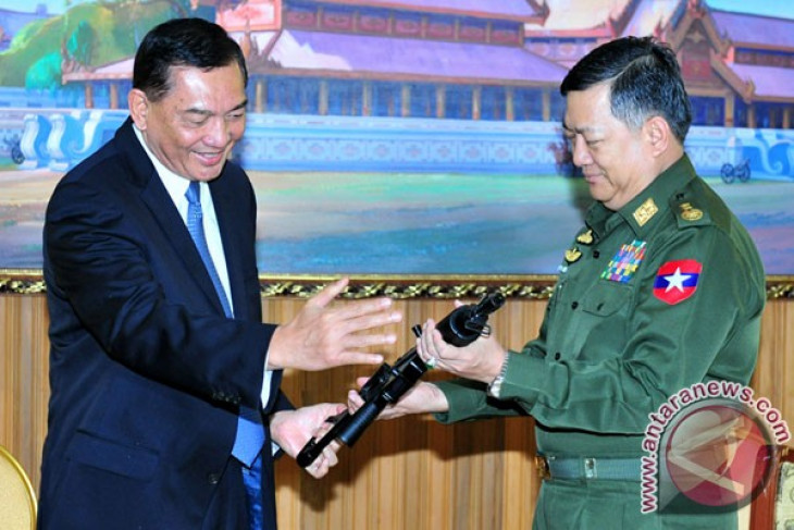 Myanmar interested in buying Indonesian-made defense products