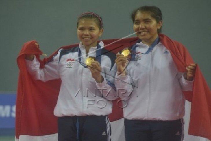 Emas Pertama Indonesia Dipersembahkan Ganda Putri Bulutangkis