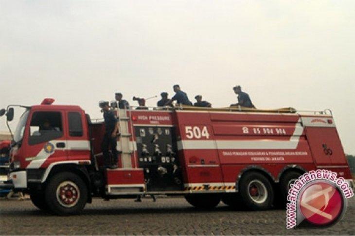 BNPB Kerahkan Damkar Padamkan Api Bakar Hutan