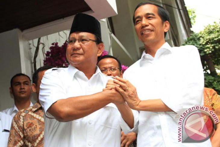 Prabowo attends Jokowi`s presidential inauguration