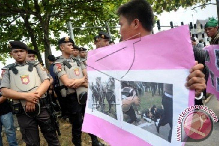 HMI Pontianak Kutuk Kekerasan Polisi