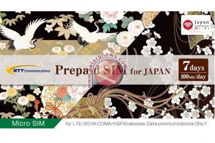 Kartu SIM NTT Communications untuk Jepang Menambahkan Pilihan 7 Hari