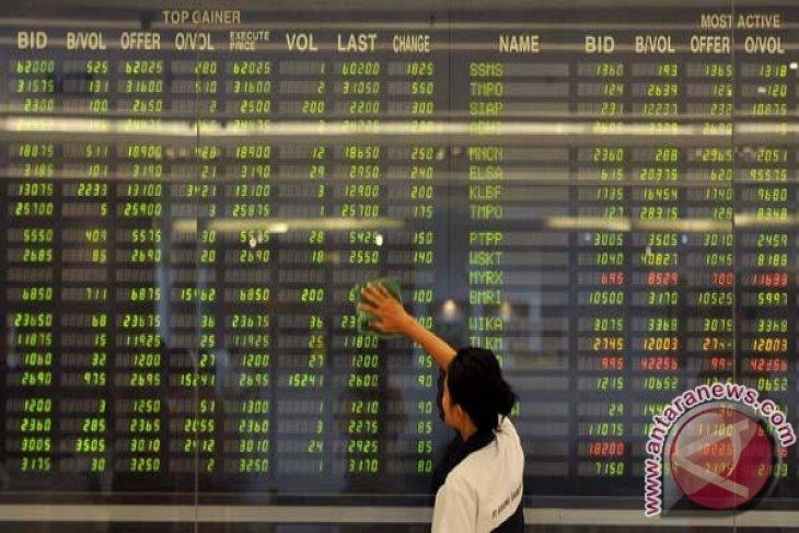 Jakarta index opens lower on Monday