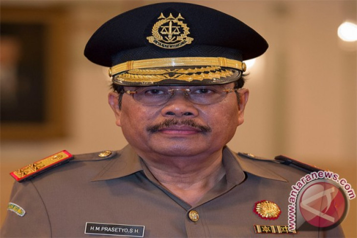 Indonesian new AG holds officials` meeting on first day in office