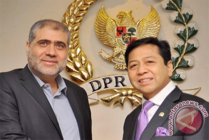 Indonesian House receives Hamas representatives