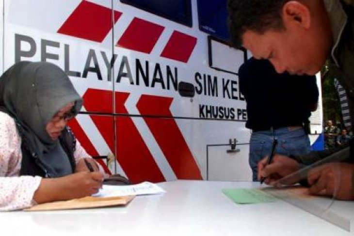Polresta Bekasi Layani Khusus Pemohon SIM Perempuan