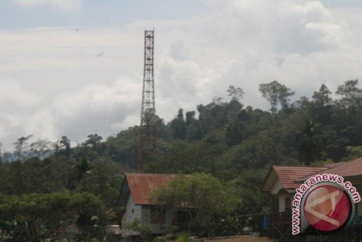 Menara telekomunikasi di perbatasan Serawak akan berfungsi kembali