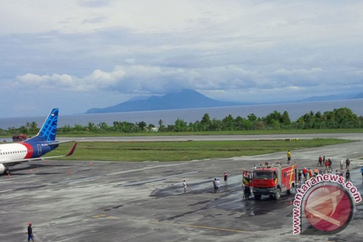 Gamalama volcano still angry, Ternate airport remains closed