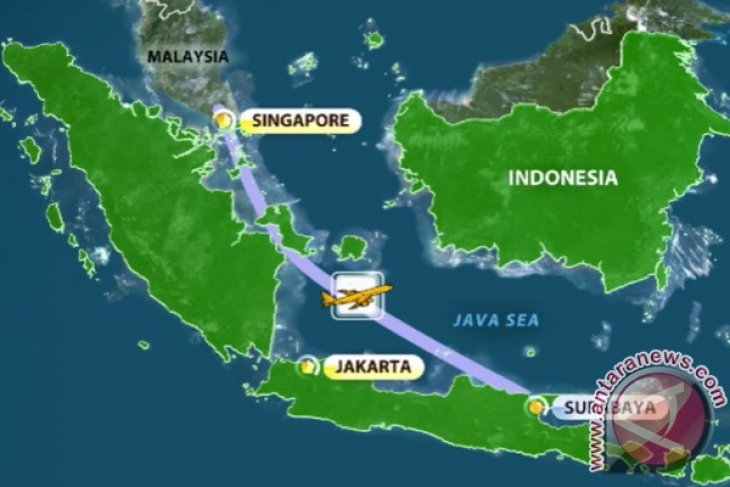 Basarnas : AirAsia QZ8501 Kemungkinan Tenggelam Antara Kalbar - Babel