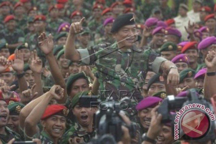 TNI Siap Bantu Keamanan Terkait Polemik KPK-Polri