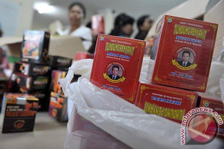 BBPOM Denpasar Sita Ribuan Produk Jamu Ilegal