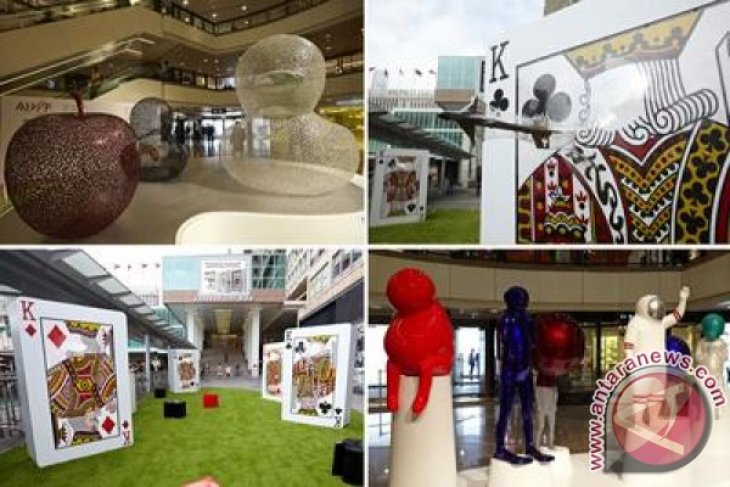 """Asia Hotel Art Fair Hong Kong 2015""  - Walk Along the ""Beyond The Space"" Public Art Trail at Harbour City"