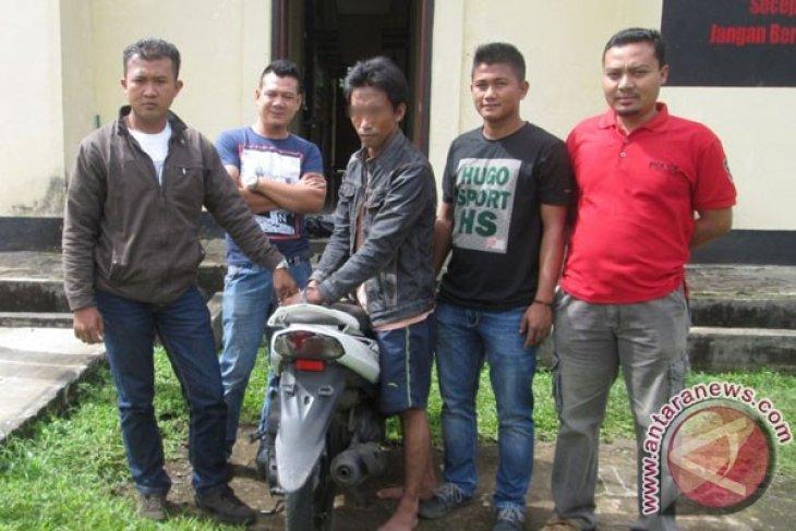 Reserse Brimob Curup tangkap pencuri kendaraan bermotor