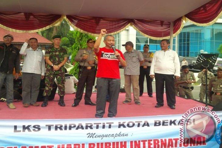 Pemkot Bekasi Sanggupi Tiga Tuntutan Buruh
