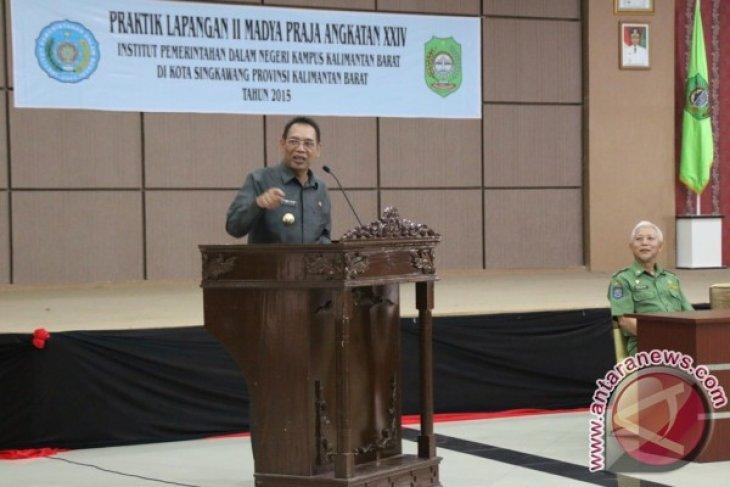 Pemkot Singkawang Terima PPL Mahasiswa IPDN Kalbar