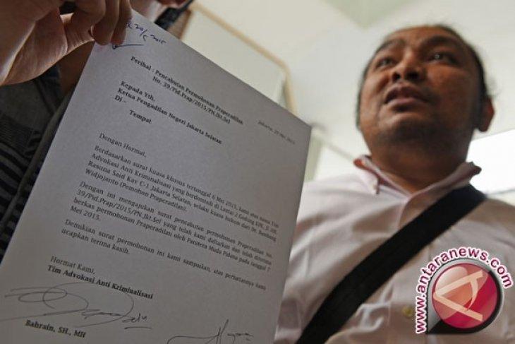 Bambang Widjojanto Cabut Gugatan Praperadilan