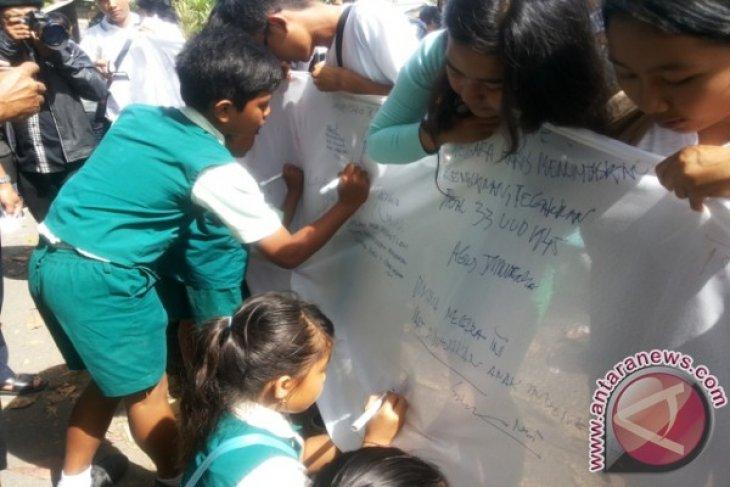Engeline Jadi Ikon Anti-kekerasan Anak