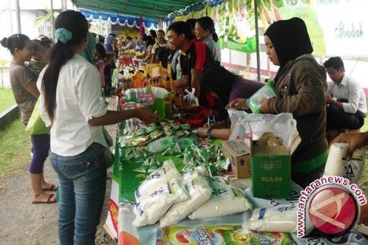 Kodim 0413/Bangka Gelar Pasar Sembako Murah