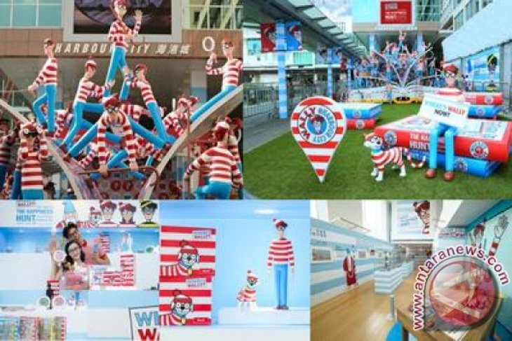 Huge Where's Wally? Art Exhibition Opens in Harbour City, Hong Kong
