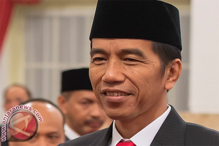 President Jokowi places Indonesia`s dreams in time capsule