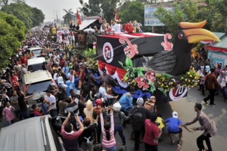 Jokowi Karnaval di Pontianak