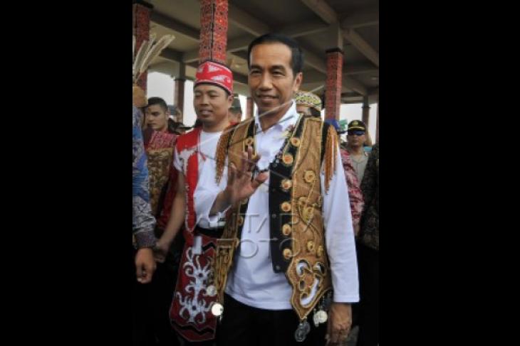Presiden Ajak Masyarakat Kalimantan Hidupkan Wisata Air