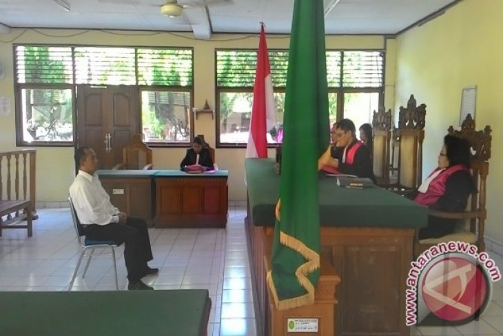 Mantan DPRD Bangli Disidangkan di PN Denpasar