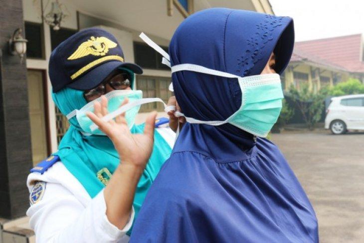 60.000 masker untuk antisipasi ISPA di Singkawang