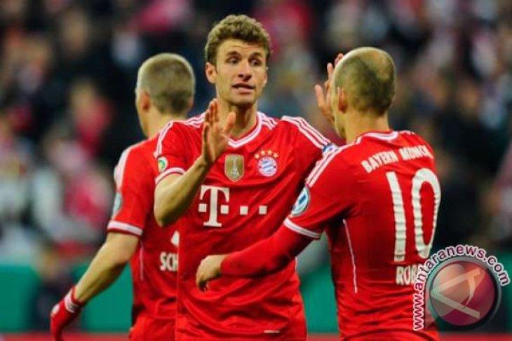 Bayern Munich melaju ke delapan besar  Liga Champions