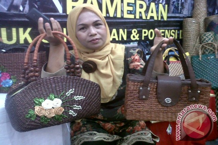 BI committed to developing water hyacinth crafts in Gorontalo