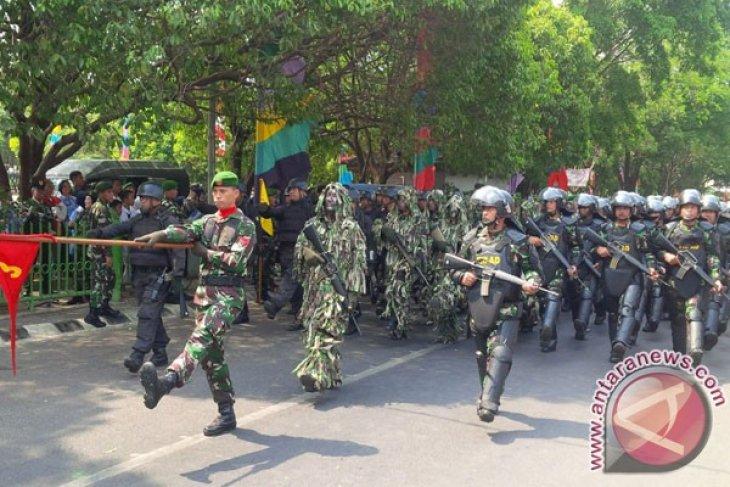 Peringatan HUT TNI Ke-70 Tahun Di Bekasi