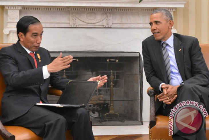 Jokowi, Obama discuss four issues in bilateral meeting