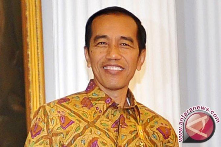 Presiden Jokowi tiba di ICC diskusi BRF