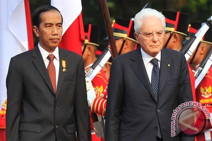 Presiden Jokowi to receive Italian President