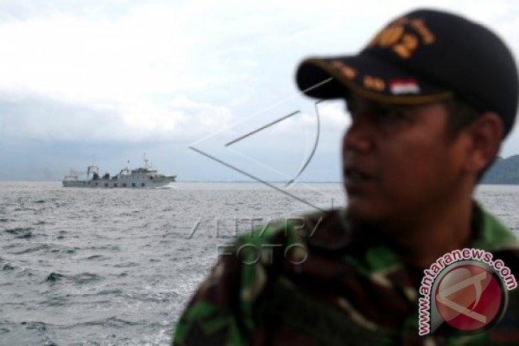 KSOP-Polair Polda Kalbar periksa satu kapal asal Tiongkok