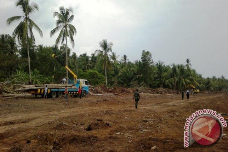 Kodim Kerahkan Personel Bantu Pembangunan Infrastruktur Penajam