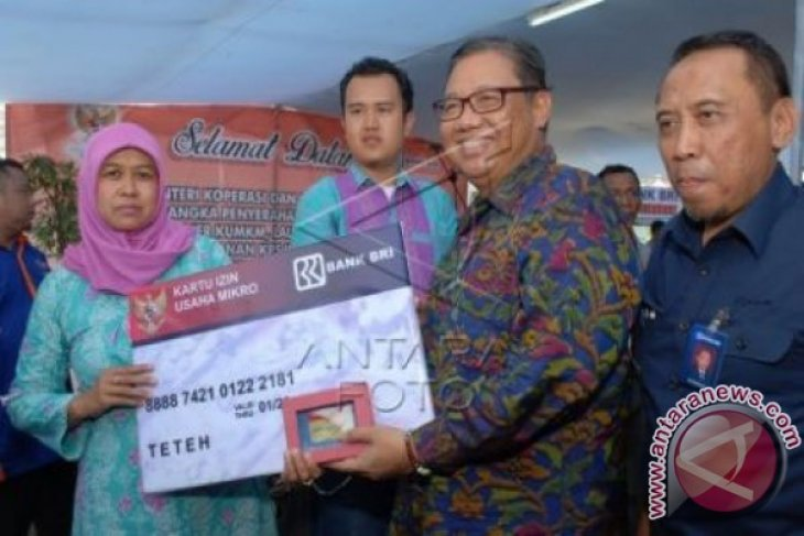 Kementerian KUKM Luncurkan Kartu IUMK Di Sukabumi