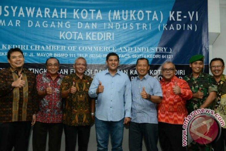 Wali Kota dengan Pengurus Kadin